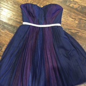 Max & Cleo formal strapless dress size 4